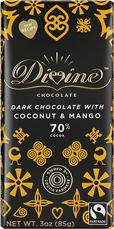 Dark Chocolate Bar | Mango & Coconut