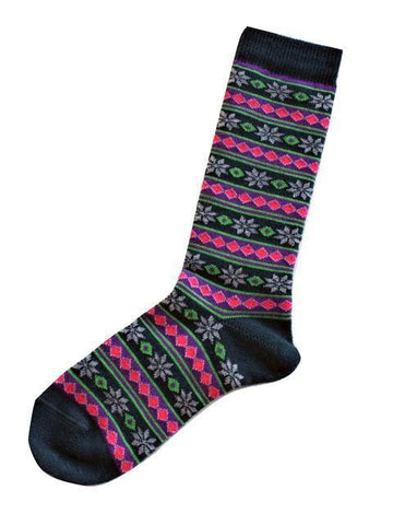 Alpaca Socks | Starry Stripe | 5 Colors