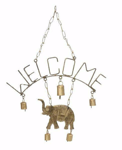 Metal Chime | Welcome Elephant