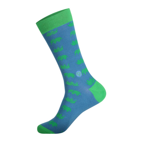 Sock That Protect Elephants | Teal