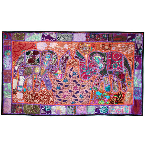 Elephant Wall Tapestry Medium