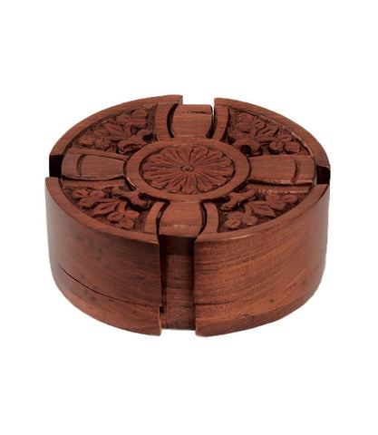 Wooden Puzzle Box | Cross