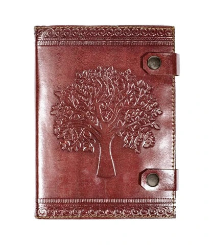 Leather Journal | Tree of life