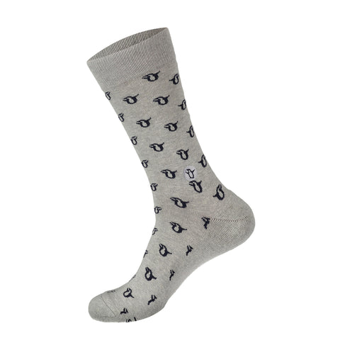 Socks That Protect Penguins | Grey