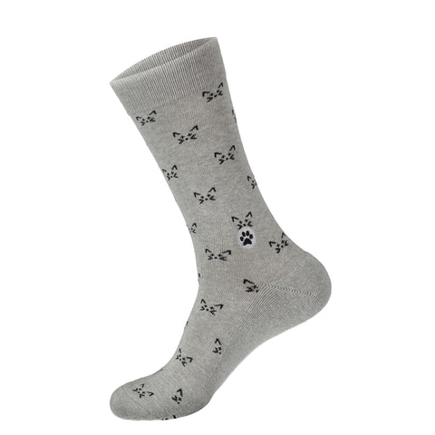 Socks That Save Cats | Grey