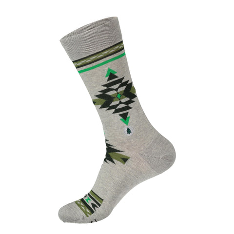 Socks That Plant Trees | Green Aztec