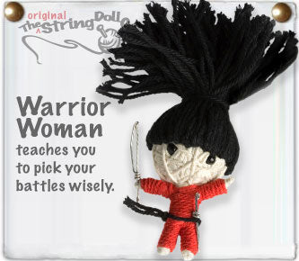 String Doll | Warrior Woman