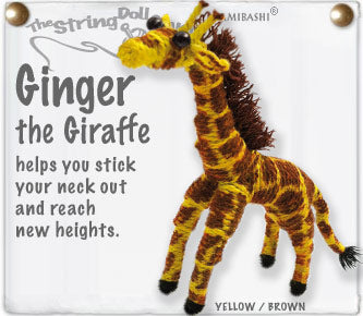 String Doll | Ginger the Giraffe