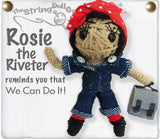 String Doll | Rosie the Riveter