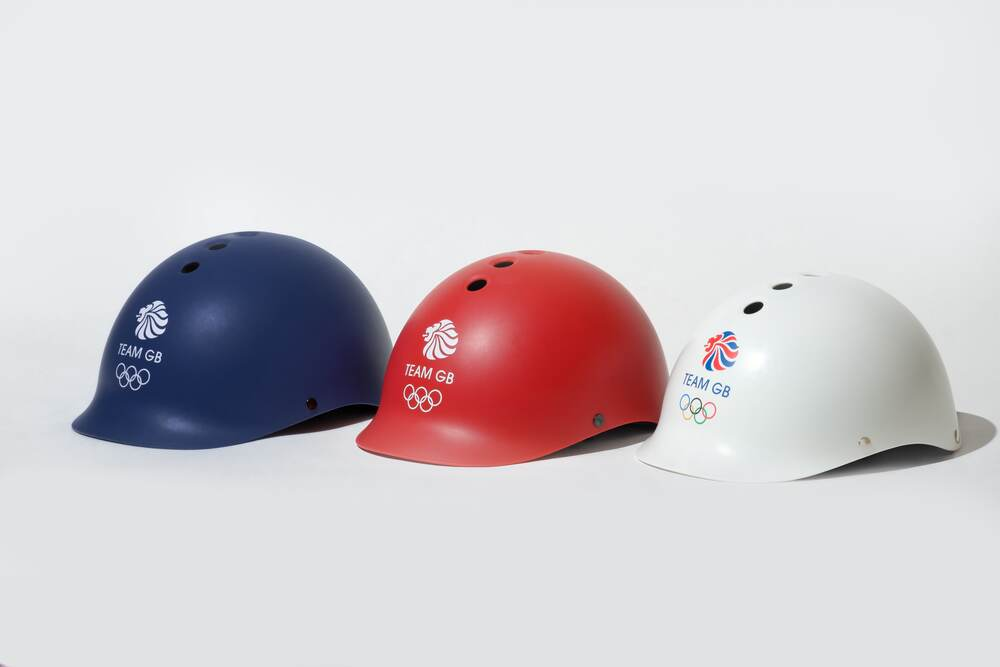 Dashel launches its range of Team GB Olympic cycle helmets