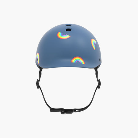 Kids Bike & Scooter Helmet - Rainbow Blue