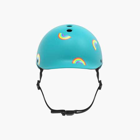 Kids Bike & Scooter Helmet - Rainbow Turquoise
