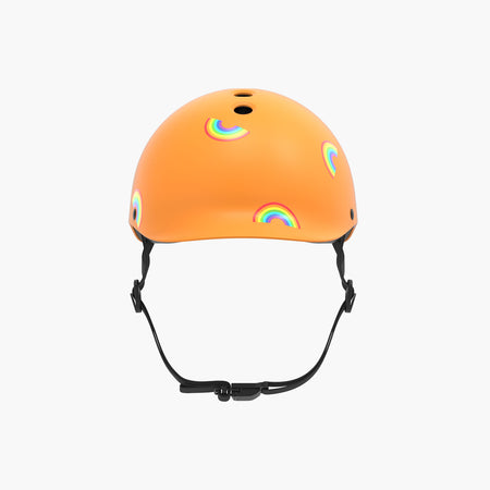 Kids Bike & Scooter Helmet - Rainbow Yellow