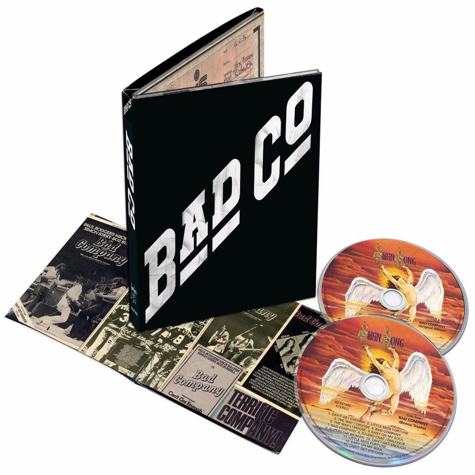 Bad Company - Bad Company - Self Titled - Deluxe Edition - 2 Cd