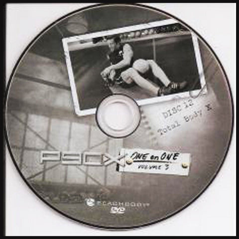 Fitness Dvd's - P90X - One On One