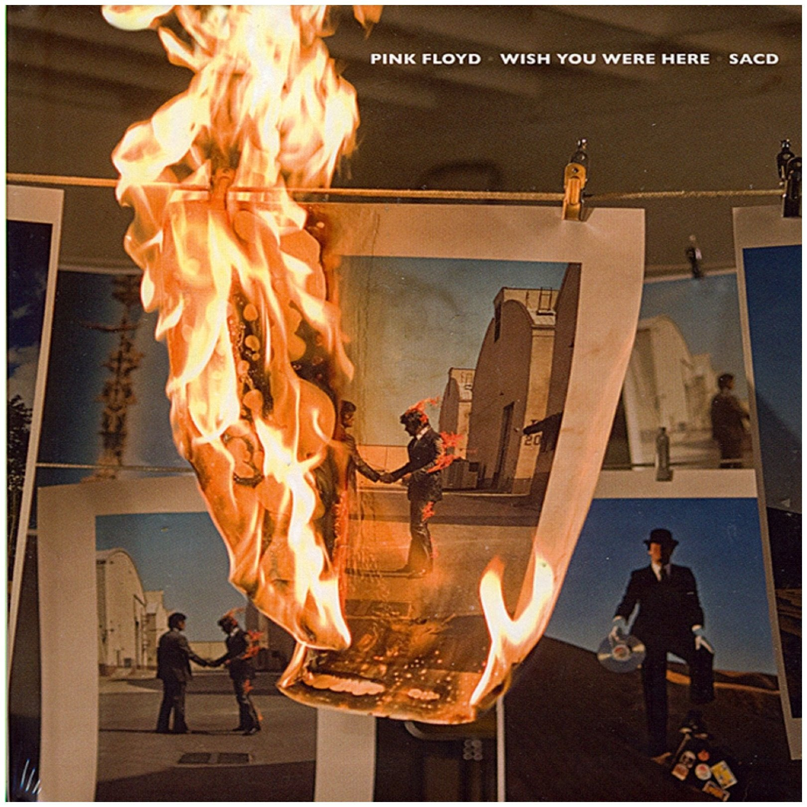 Pink Floyd - Pink Floyd - Wish You Were Here - Sacd - Cd