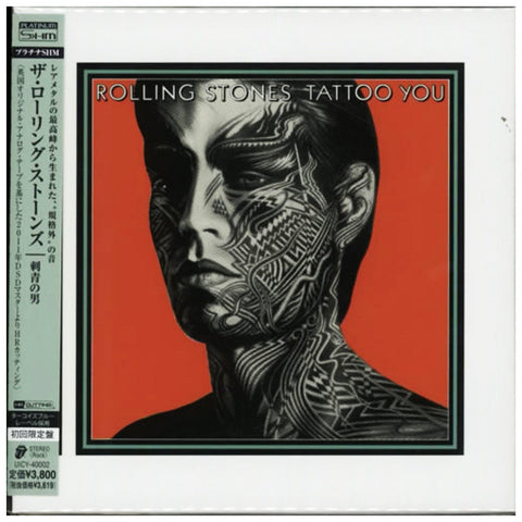 The Rolling Stones Tattoo You Japan Platinum Shm Uicy 40002 Cd