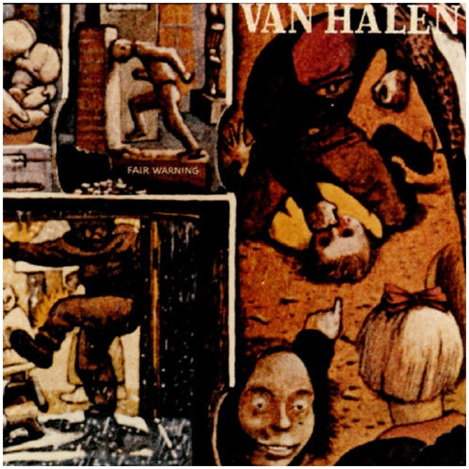 Van Halen - Van Halen - Fair Warning - Mini Lp - Cd