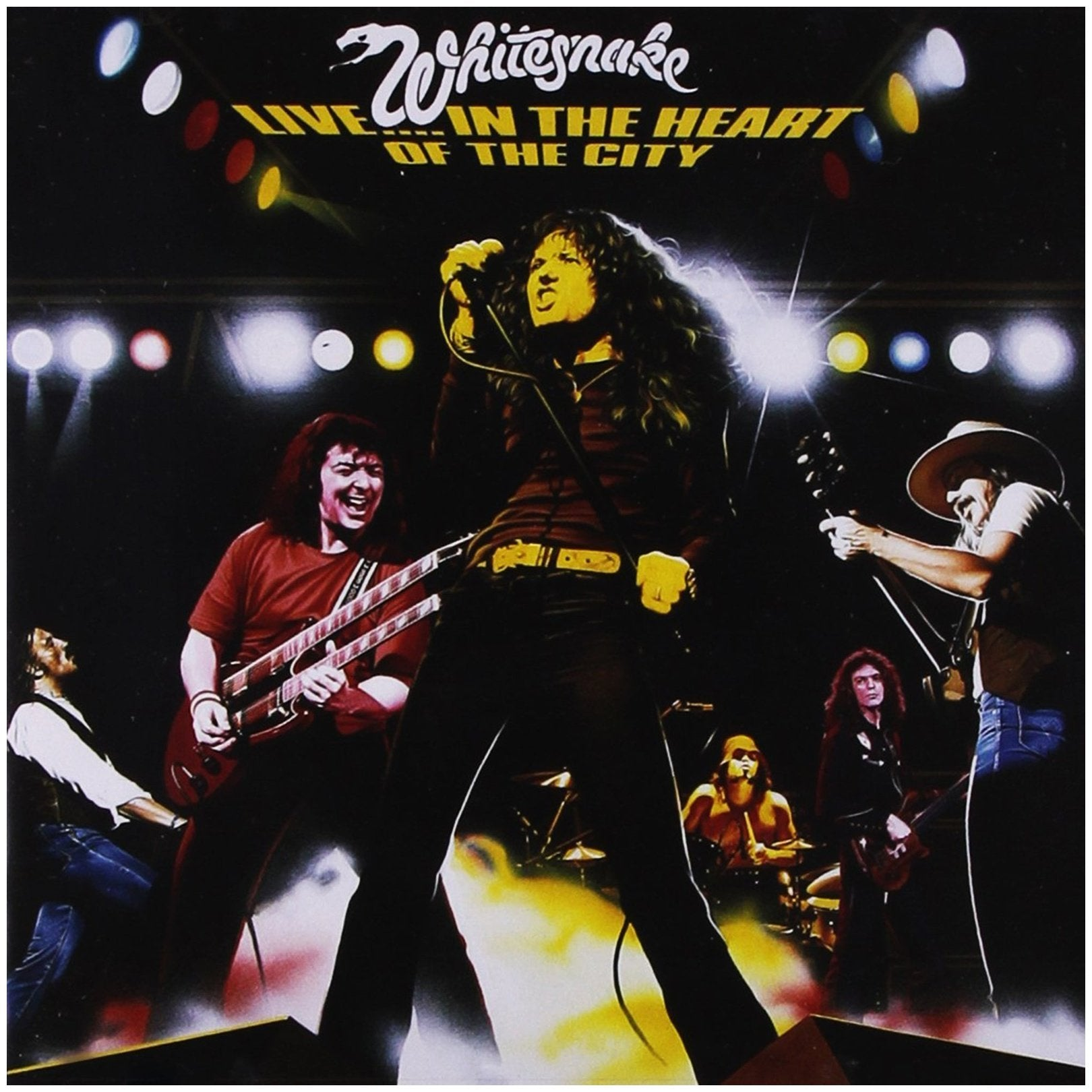 Whitesnake - Whitesnake - Live In The Heart Of The City - 2 Cd
