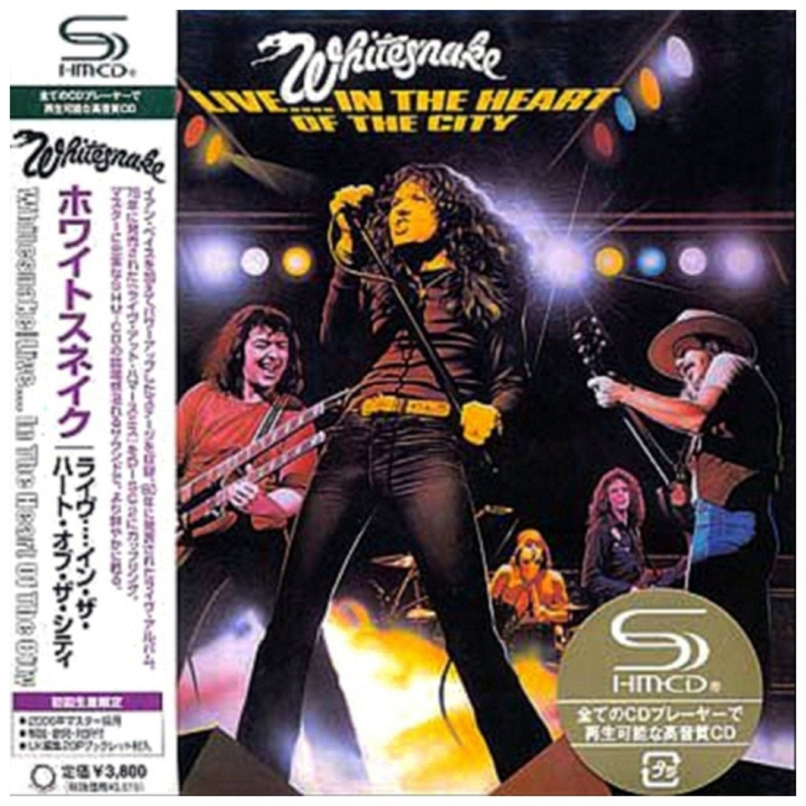 Whitesnake - Whitesnake - Live In The Heart Of The City - Japan Mini Lp Shm - Uicy-93740/1 - 2 Cd