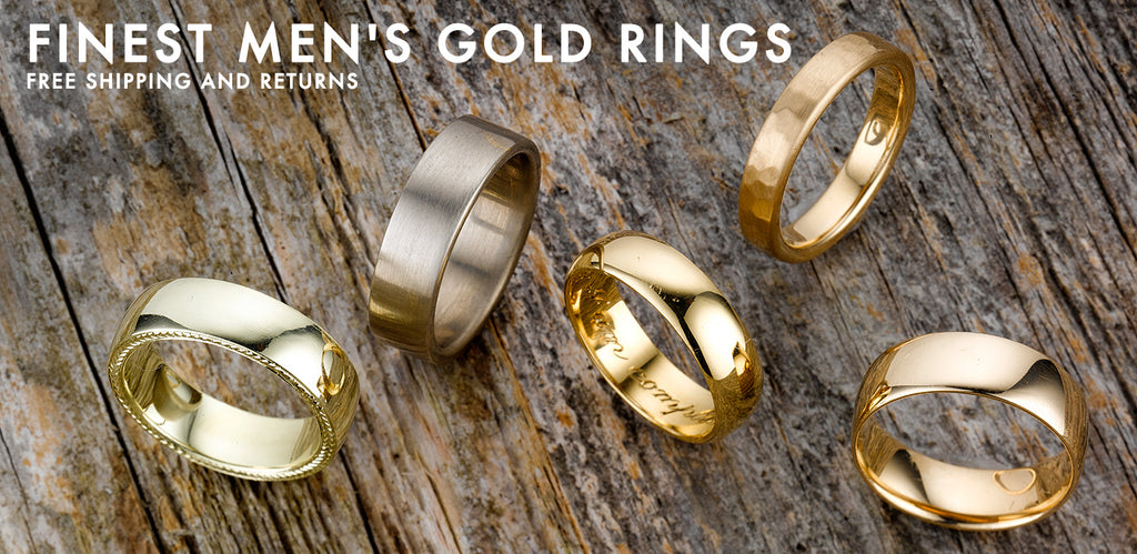 Mens Rings For Sale in Gold