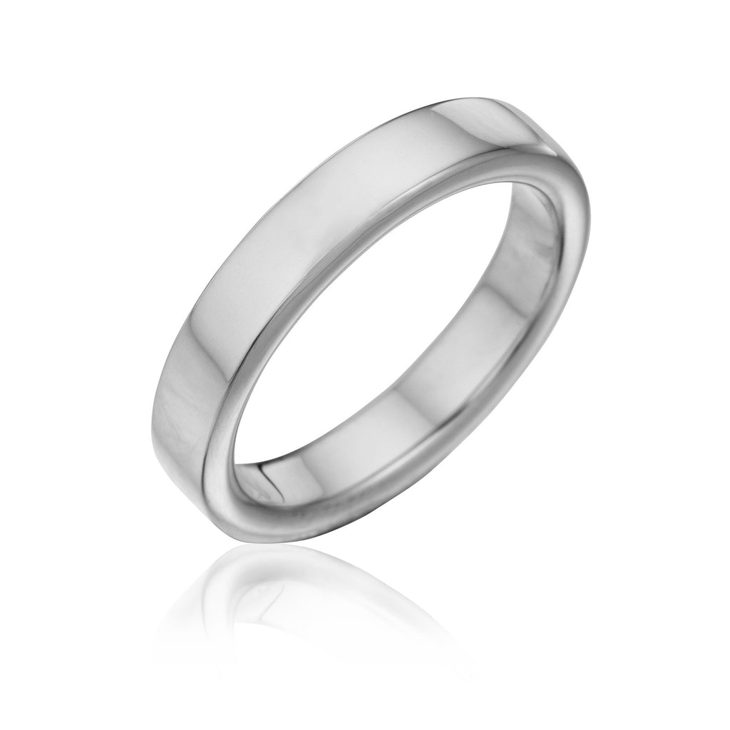 views style rings big size flat plain for wedding more women fit men bands gold comfort band white platinum to s