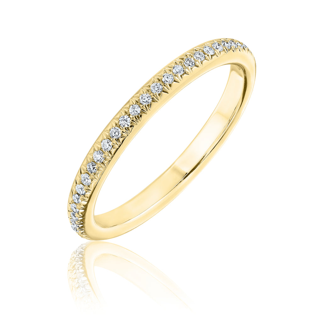 Diamond Eternity Domo band
