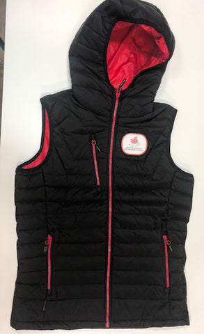 Women's Coaching Thermal Vest-Patch Crest
