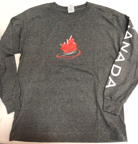 Youth Long Sleeve-BACK Logo