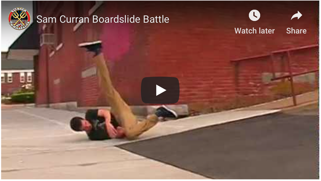 Sam Curran Boardslide Battle