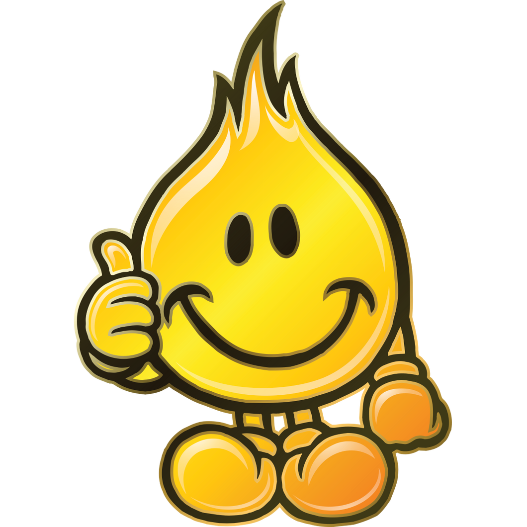 Flameboy Approves Sticker