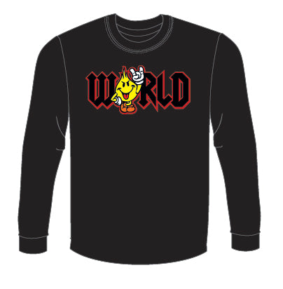 World Industries Flame Boy WRLD Long Sleeve Men's T-Shirt