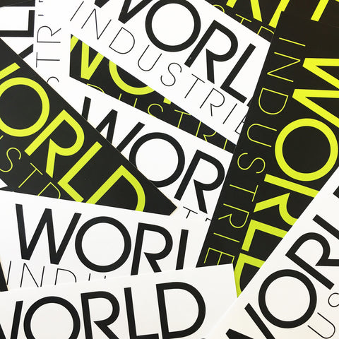 World Industries Free Stickers