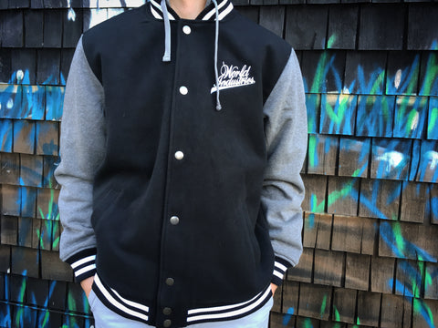 d0d8a04ddca Old-School Letterman Jacket