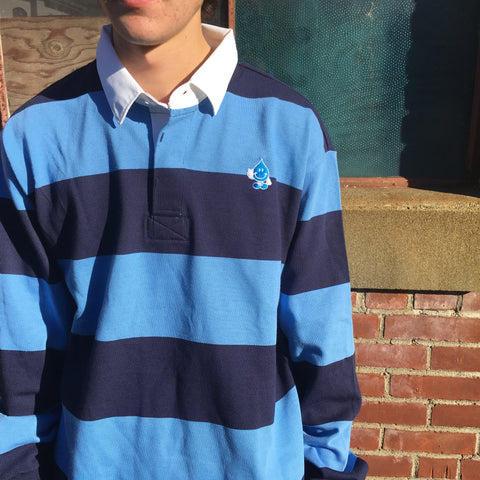 Wet Willy Long Sleeve Rugby Polo
