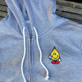World Industries Embroidered Flameboy Zip Up Hoodie