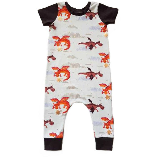 Dragon Harem Romper - Dapper Jacks