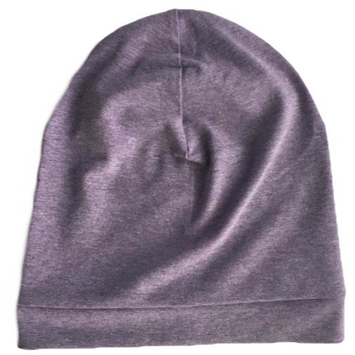Purple Slouchy Beanie - Dapper Jacks