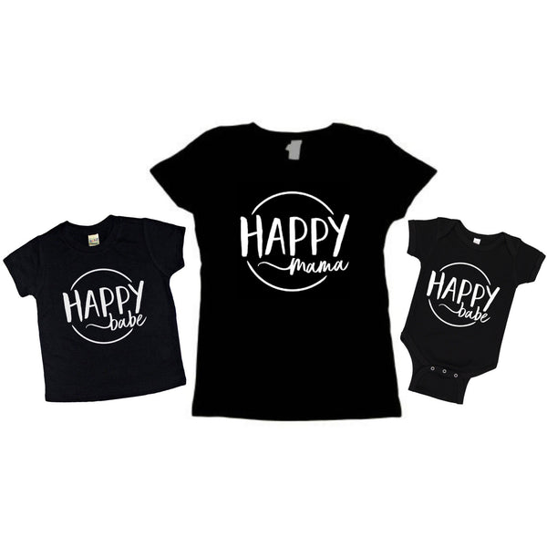 Happy Babe Tee - Dapper Jacks