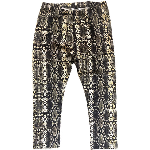 Snake Skin Leggings - Dapper Jacks