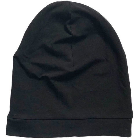 Black Slouchy Beanie - Dapper Jacks