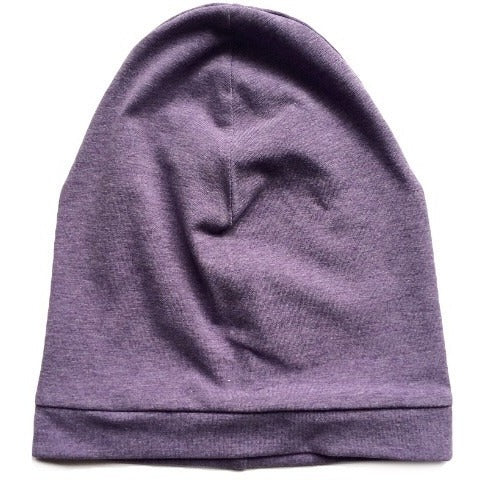 Mottled Purple Slouchy Beanie - Dapper Jacks