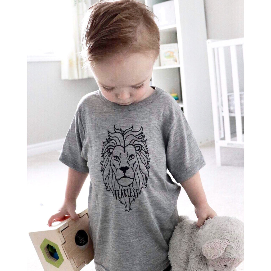Fearless Kids Tee - Dapper Jacks