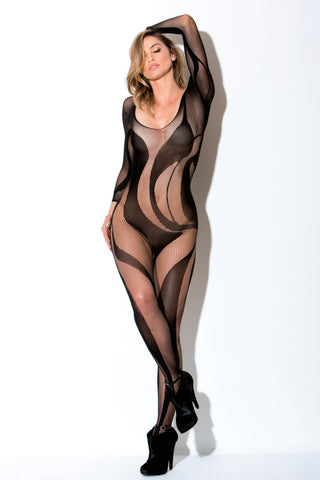 Smoke and Mirrors Body Stocking