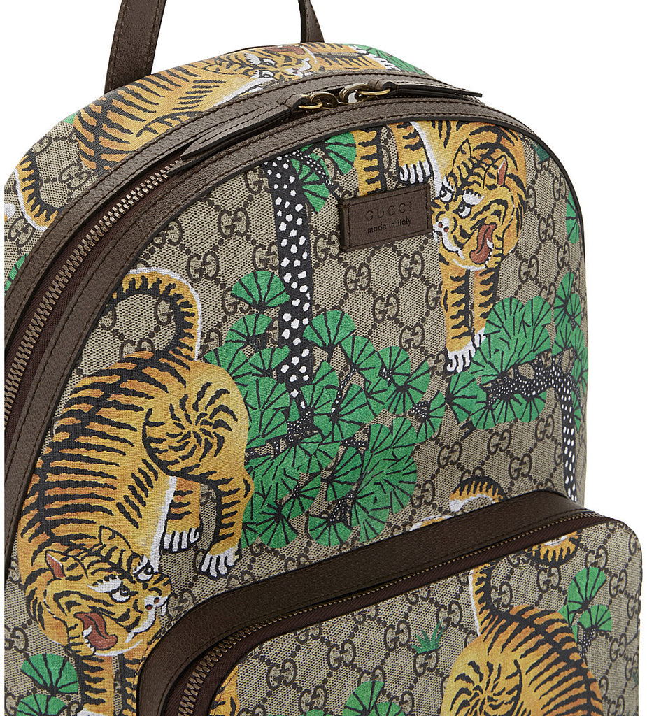 Gucci Bengal GG Supreme Backpack Bags Gucci - Shop authentic new pre-owned designer brands online at Re-Vogue