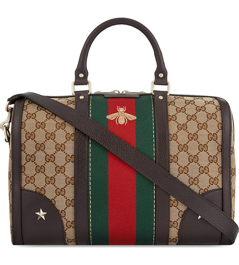 Gucci Vintage Web Embroidered Bag Bags Gucci - Shop authentic new pre-owned designer brands online at Re-Vogue