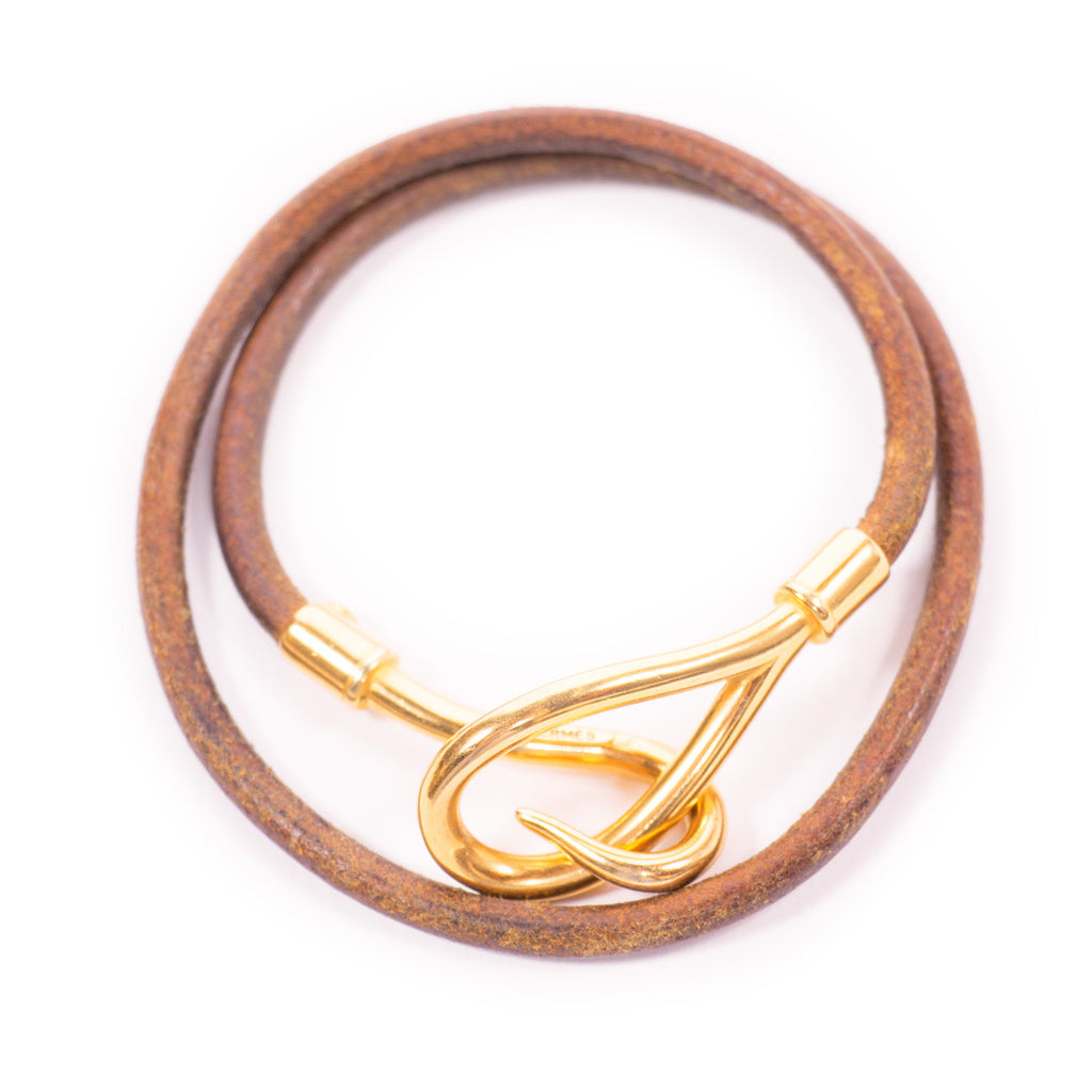 Hermes Jumbo Hook Bracelet Bracelets Hermes - Shop authentic new pre-owned designer brands online at Re-Vogue