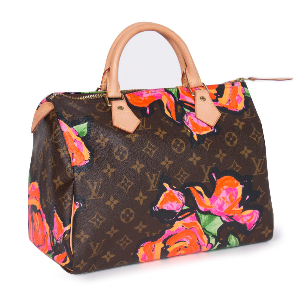 Louis Vuitton Stephen Sprouse Roses Speedy 30
