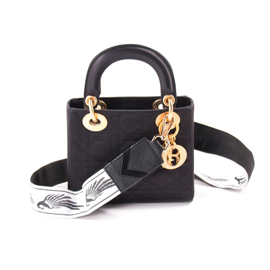 Christian Dior Satin Micro Lady Dior Bags Dior - Shop authentic new  pre-owned designer. Christian ... dff4a7b398dce
