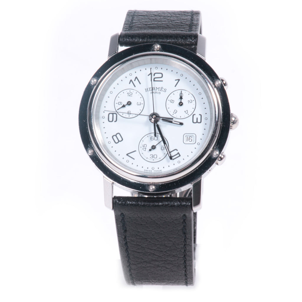 Hermes Clipper Chronograph Accessories Hermes - Shop authentic pre-owned designer brands online at Re-Vogue